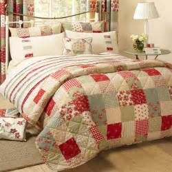 Patchwork Bedding Sets Uk Dreams N Drapes Petticoat Patchwork Applique Quilted