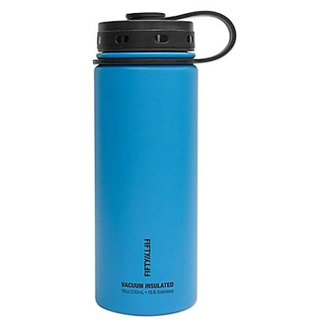 Berkualitas K 7 Thermo Water Jug 1 7 L buy fifty fifty wall vacuum insulated 18 oz water bottle in blue from bed bath beyond