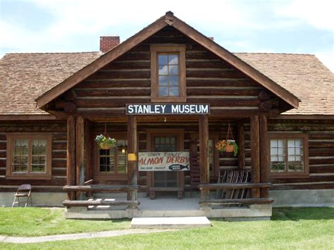 stanley log on free stock photo of log cabin museum in stanley idaho