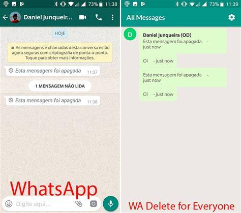 hacking tutorial for whatsapp tutorial como recuperar mensagens apagadas para todos