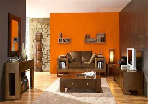 Brown And Orange Home Decor by Best 25 Orange Accent Walls Ideas On Orange Bedroom Walls Brown Wall Lights And