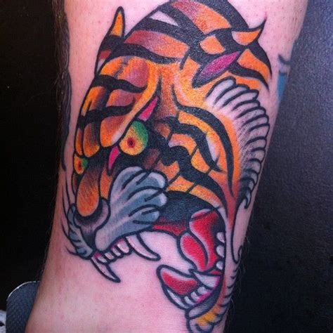 old school tiger tattoo 161 best images about school on