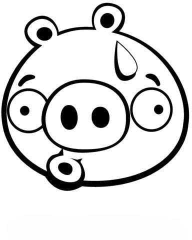 discouraged minion pig coloring page free printable