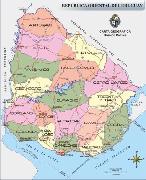 imagenes satelital del uruguay gt mapa politico territorial de uruguay biblioteca