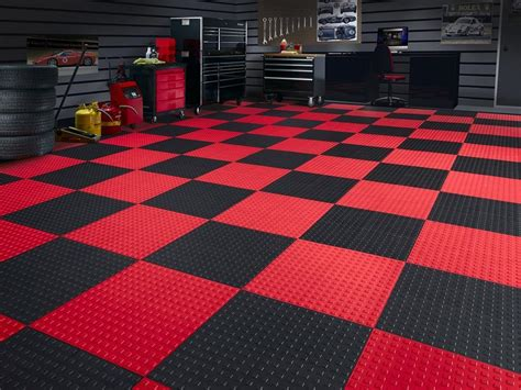 Karpet Tile Polos weathertech techfloor non slip modular garage floor tile california car cover company