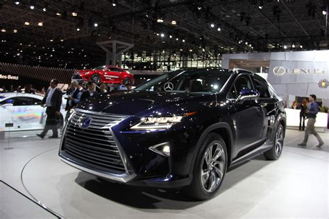 new lexus 2016 mega gallery 2016 lexus rx revealed at new york