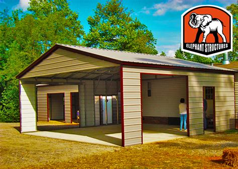 easy carport metal carports are easy to maintain