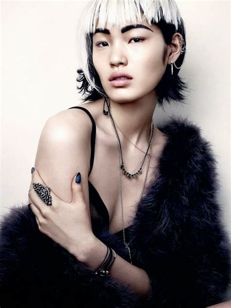 beautiful fashion model in jewelery and lila manicure 17 best images about punk models on pinterest daft punk