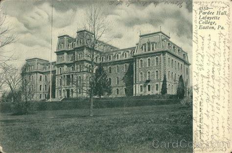 Lafayette College Post Office by Pardee Lafayette College Easton Pa Postcard