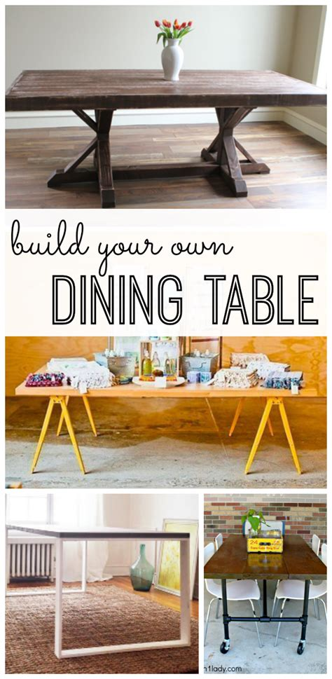 how to make your own dining room table build your own dining table my life and kids