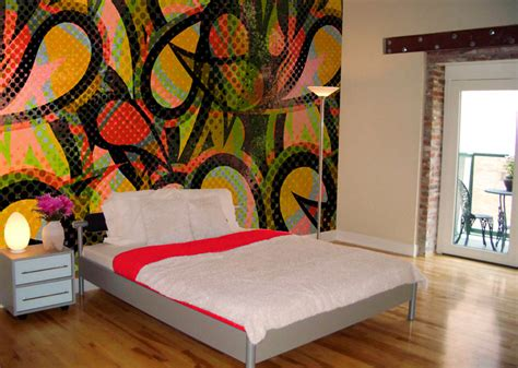 graffiti wallpaper bedroom diagenesis graffiti bedroom design