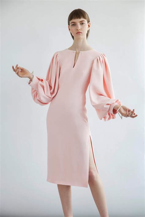 Dress Nl 30 Pink pink sleeve dress idea for daily 30 fashion