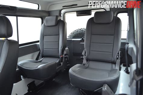 land rover defender interior back 2012 land rover defender 90 rear passenger seats