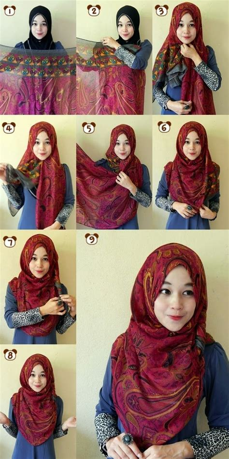 tutorial hijab turban pashmina simple 136 best hijab shawl styles remember to cover the chest