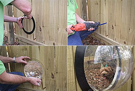 fence window petpeek window for your fence