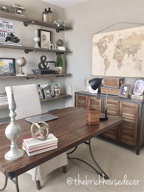 diy office decorating ideas best 20 farmhouse office ideas on pinterest
