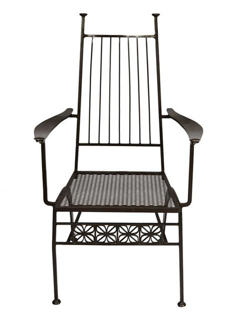 Wrought Iron Dining Chairs For Sale Set Of Six Salterini Wrought Iron Chairs For Sale At 1stdibs