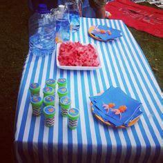 fishy breath noah 2nd birthday fishy theme on jello cups cake cookie