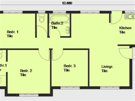 Modern House Floor Plans Free Free Contemporary House Plan Free House Plans Africa