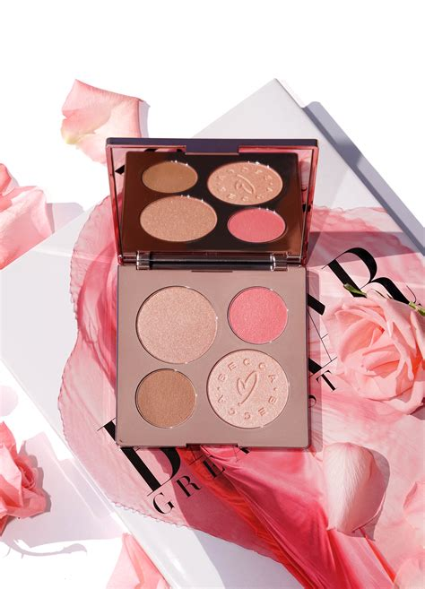 Mediterranean Home Colors Exterior - becca x chrissy teigen glow face palette review swatches the beauty look book