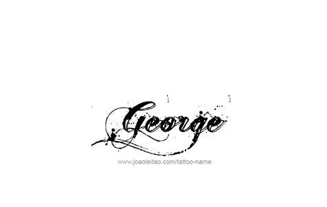 Tattoo Name George | george name tattoo designs