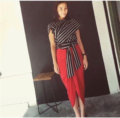 Ab Baju Casual Wanita Jumpsuit Babol 657 best images about tenun songket indonesia on fashion weeks ikat print and kebaya