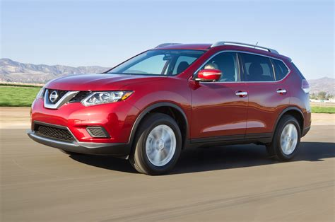 red nissan 2014 nissan rogue first drive motor trend