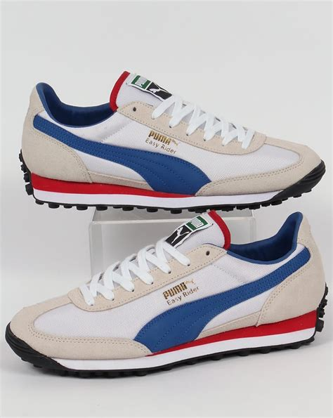 Easy Rider Blue White easy rider trainers white true blue shoes retro