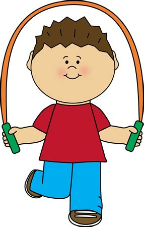 jump clipart boy with jump rope clip boy with