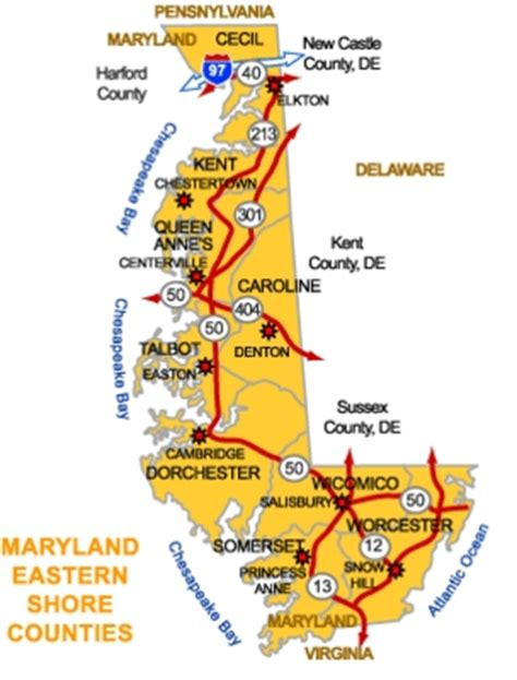 map maryland eastern shore towns about real estate in s county on the eastern