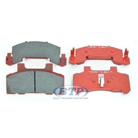 boat trailer disc brake pads kodiak trailer disc brake pad ceramic set for 225 brake