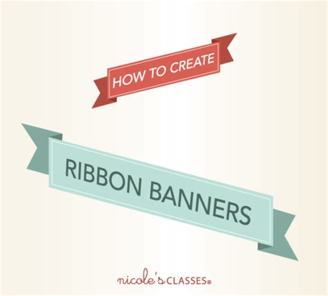 design banner in illustrator free tutorial archives nicole s classes