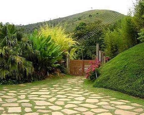 imagenes de jardines soñados decorar con piedras un toque de naturalidad para los