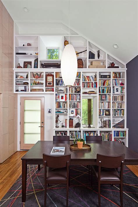 Bookshelves In Dining Room by 25 Dining Rooms And Library Combinations Ideas Inspirations