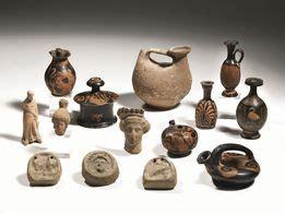 vasi apuli una piccola collezione apula asta reperti archeologici