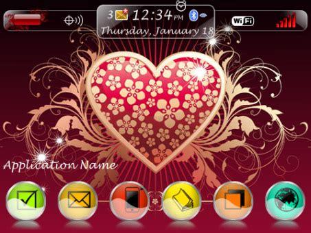 love themes blackberry flowvec love theme for bb 9300 9330 os6 0 themes free
