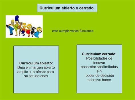 Que Es Un Modelo Curricular Definicion Teoria Y Modelos Curriculares Curr 237 Culum Abierto O Cerrado