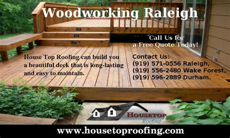 pin  housetop roofing  woodworking raleigh home