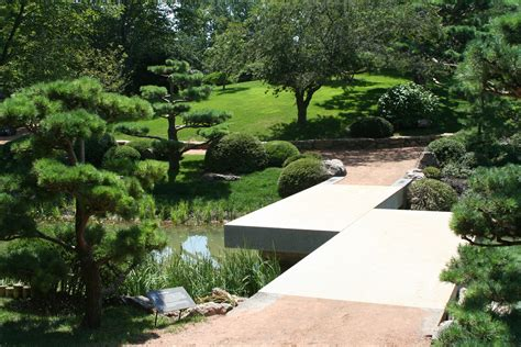 Chicago Gardens by File Chicago Botanic Garden Zig Zag Bridge Jpg