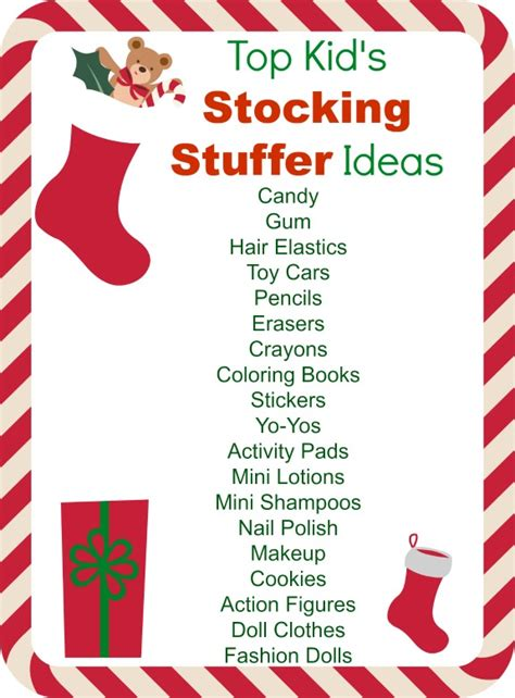 stocking stuffers ideas great christmas stocking stuffer ideas for seniors other