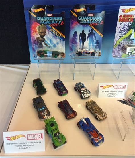Hotwheels Guardians Of The Galaxy Vol 2 fair 2017 mattel marvel wheels cars photos marvel news