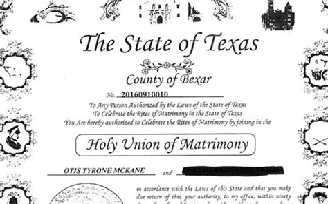 Bexar County Clerk Marriage Records Suspect In Sapd Officer Murder Got Married The Day Of His Arrest Radio