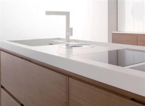 White Corian Worktop Ce Materiale Alegem Pentru Mobilierul De Bucatarie Casa