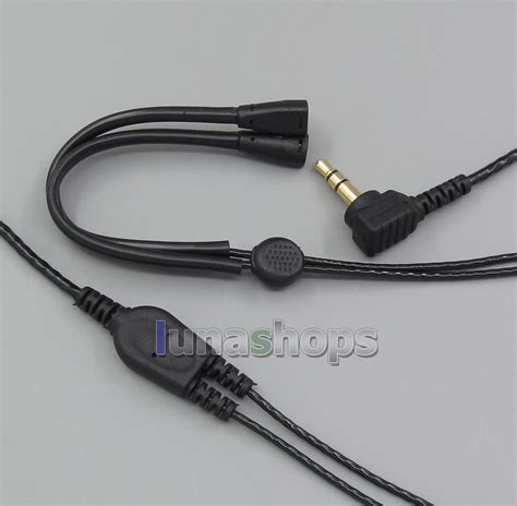 Earphone Sennheiser Ie 8 with earphone hook stereo audio headphone cable for
