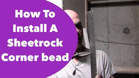 How To Install On L by How To Install A Sheetrock Corner Bead