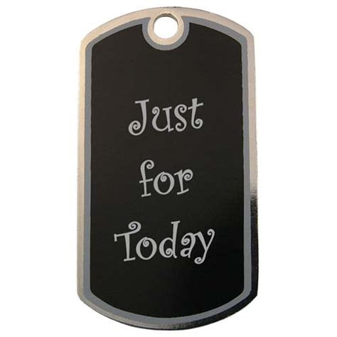 Just For by Recovery Jewelry Custom Just For Today Tags And