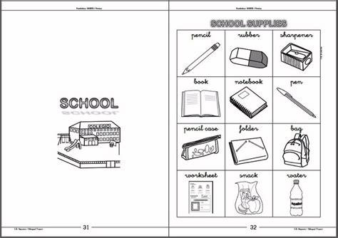 libro de vocabulario y ejercicios vocabulary workbook books materiales vocabulary book basics libro de consulta