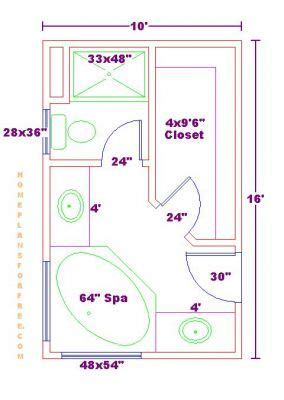 bathroom floor plans with walk in shower bathroom and closet floor plans plans free 10x16
