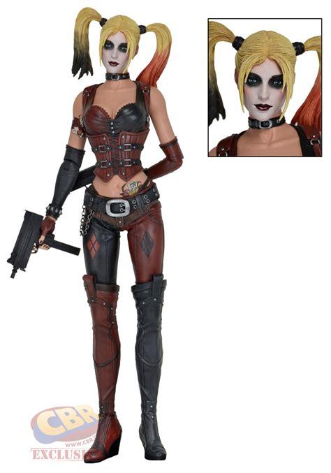 figure news neca batman arkham city harley quinn 1 4 scale figure