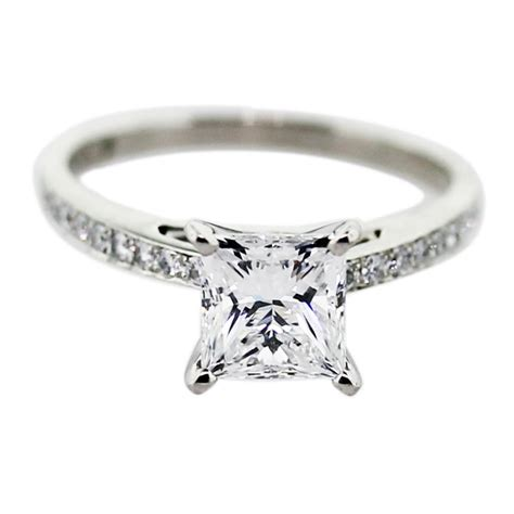 engagement ring eye candy square engagement rings paperblog